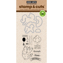Hero Arts - Stamp & Cut - Unicorn Stamp & Cut