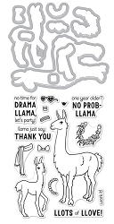 Hero Arts - Stamp & Cut - Llama Stamp & Cut