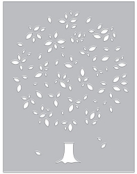 Hero Arts - Fancy Die - Tree and Leaf Confetti Die