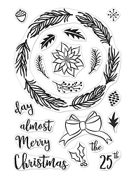 Hero Arts - Clear Stamp - Winter Wreath