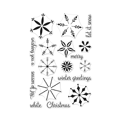 Hero Arts - Clear Stamp - Stacking Snowflakes