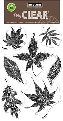 Hero Arts - Clear Stamp - Textured Leaves