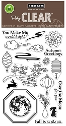 Hero Arts - Clear Stamp - Autumn Moon