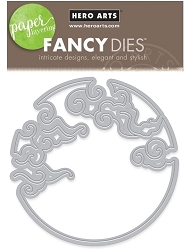 Hero Arts - Fancy Die - Cloudy Moon