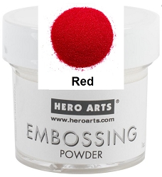Hero Arts - Embossing Powder (1oz) - Red