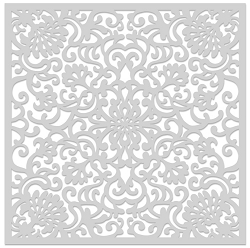 Hero Arts - Stencil - Ornate Floral Stencil