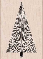 Hero Arts - Wood Mounted Rubber Stamp - Many Branches Tree