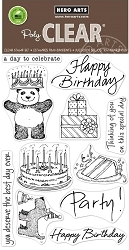 Hero Arts - Clear Stamp - Birthday From the Vault