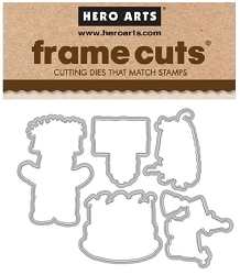 Hero Arts - Frame Cuts Die - Birthday From the Vault