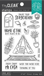 Hero Arts - Clear Stamp - Camp Mi Casa