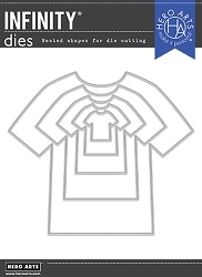 Hero Arts - Fancy Die - T-Shirt Infinity Dies
