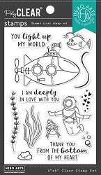 Hero Arts - Clear Stamp - Deeply In Love