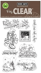 Hero Arts - Clear Stamp - Winter Joy