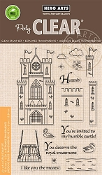 Hero Arts - Clear Stamp - Build A Castle