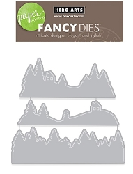 Hero Arts - Fancy Die - Snowy Drifts Fancy Die