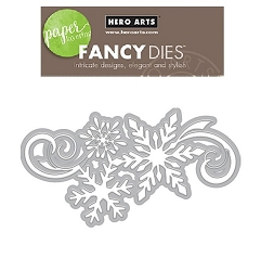 Hero Arts - Fancy Die - Snowflake Cluster Fancy Die