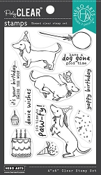 Hero Arts - Clear Stamp - Birthday Paw-ty