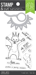 Hero Arts - Stamp & Cut - Party Fox