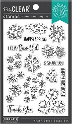 Hero Arts - Clear Stamp - Life Is Beautiful