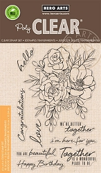 Hero Arts - Clear Stamp - Togetherness Flower Bouquet