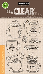 Hero Arts - Clear Stamp - Cup of Love