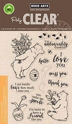 Hero Arts - Clear Stamp - Unbearably Thankful