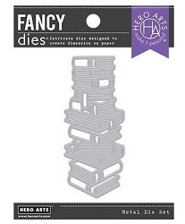 ***PRE-ORDER**Hero Arts - Fancy Die - Stacked Books Die