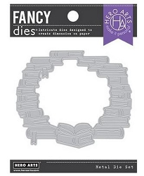 **PRE-ORDER**Hero Arts - Fancy Die - Book Window Die