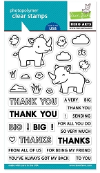 Hero Arts/Lawn Fawn - Clear Stamp - Big Thanks