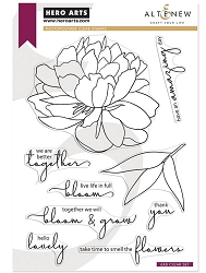 Hero Arts/Altenew - Clear Stamp - Bloom & Grow