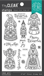 Hero Arts - Clear Stamp - Christmas Folks