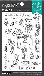 Hero Arts - Clear Stamp - Dala Horse