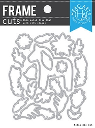 Hero Arts - Frame Cuts Die - Dala Horse