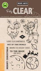 Hero Arts - Clear Stamp - Out Of This World Christmas