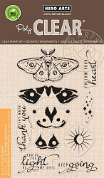 Hero Arts - Clear Stamp - Color Layering Moth
