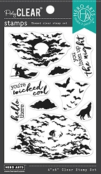 Hero Arts - Clear Stamp - Color Layering Moonlit Night