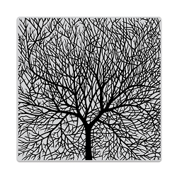 Hero Arts - Cling Rubber Stamp - Bare Branched Tree Bold Prints