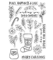 Hero Arts - Clear Stamp - Stocking Bouquet