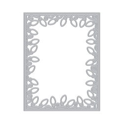 Hero Arts - Fancy Die - Christmas Lights Border Die