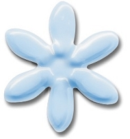 Hot Off The Press - Brads - Baby Blue Daisy