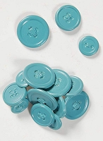 Hot Off The Press - Button Brads - Pastel Blue