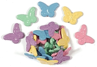 Hot Off The Press - Brads - Pastel Butterflies