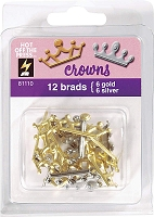 Hot Off The Press - Brads - Crowns