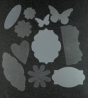 Acrylic Die Cut Shapes