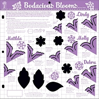 Hot Off The Press - 12x12 Template - Bodacious Blooms