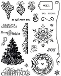 Hot off the Press-Clear Stamps-Merry & Bright
