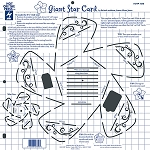 Hot off the Press-12x12 Template-Giant Star Card