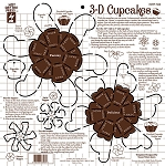 Hot off the Press-12x12 Template-3D Cupcakes