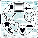 Hot off the Press-12x12 Template-Scrapbook Spinner