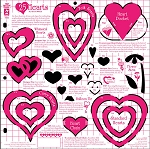 Hot off the Press-12x12 Template-Hearts
